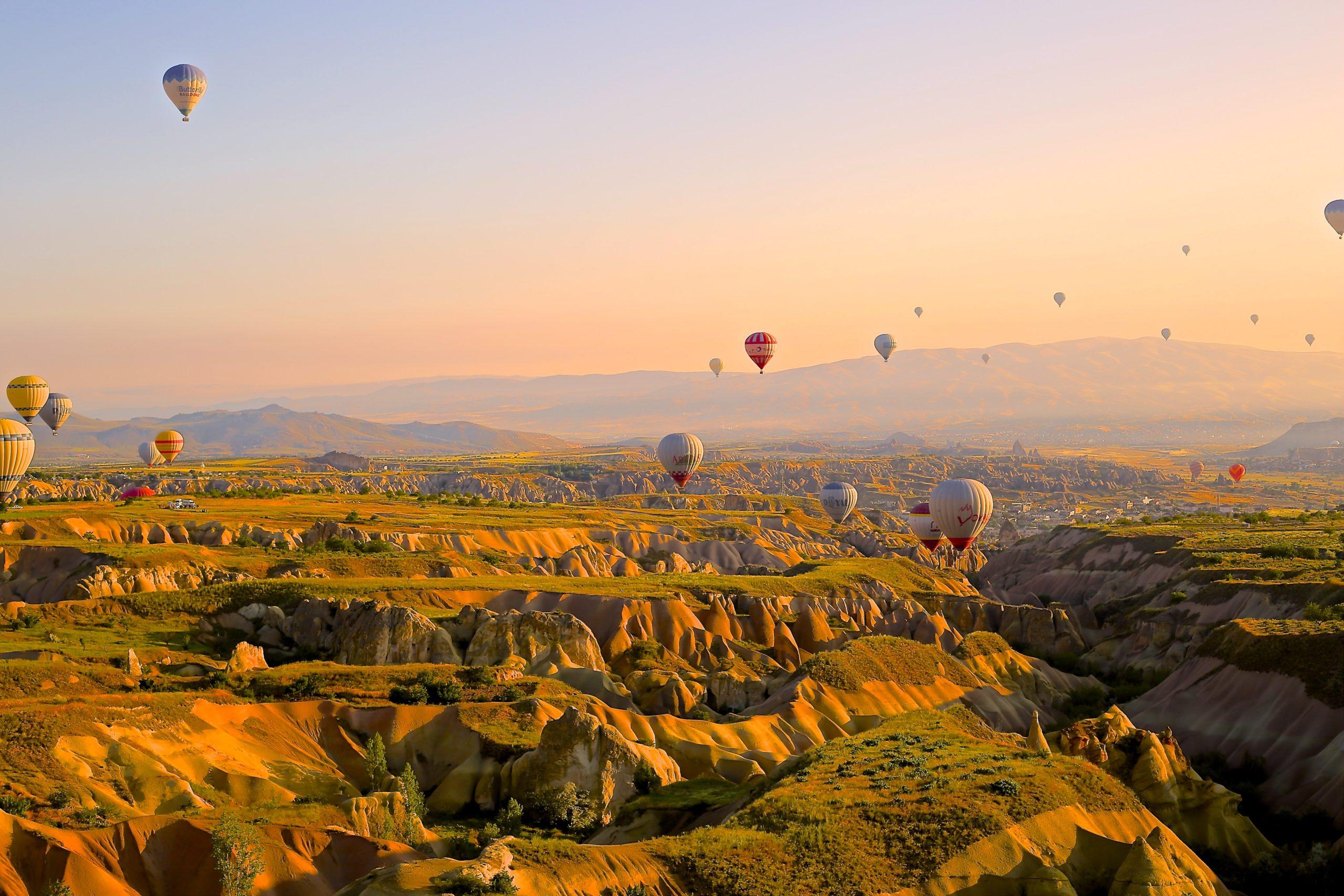 montgolfière nature